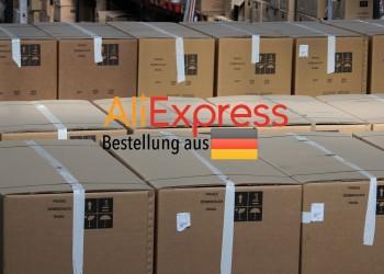 aliexpress versand aus DE