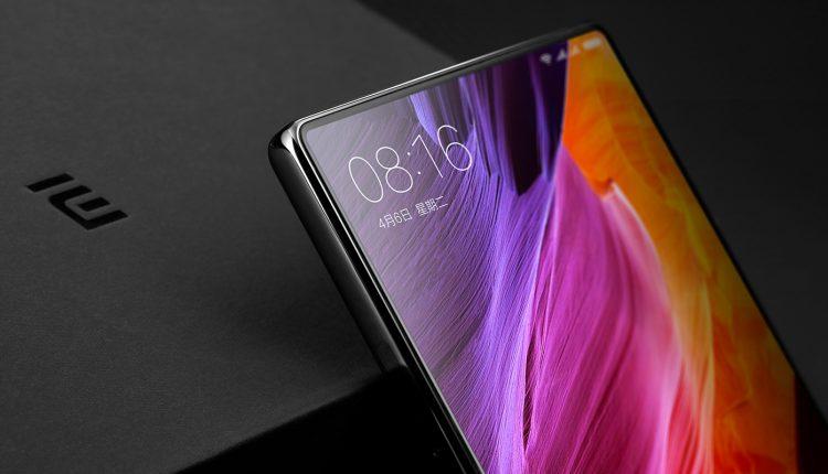 randloses Smartphonedisplay xiaomi mi mix 2