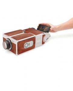 papier projector für smartphone