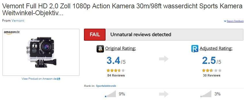 action cam reviewmeta ergebnis