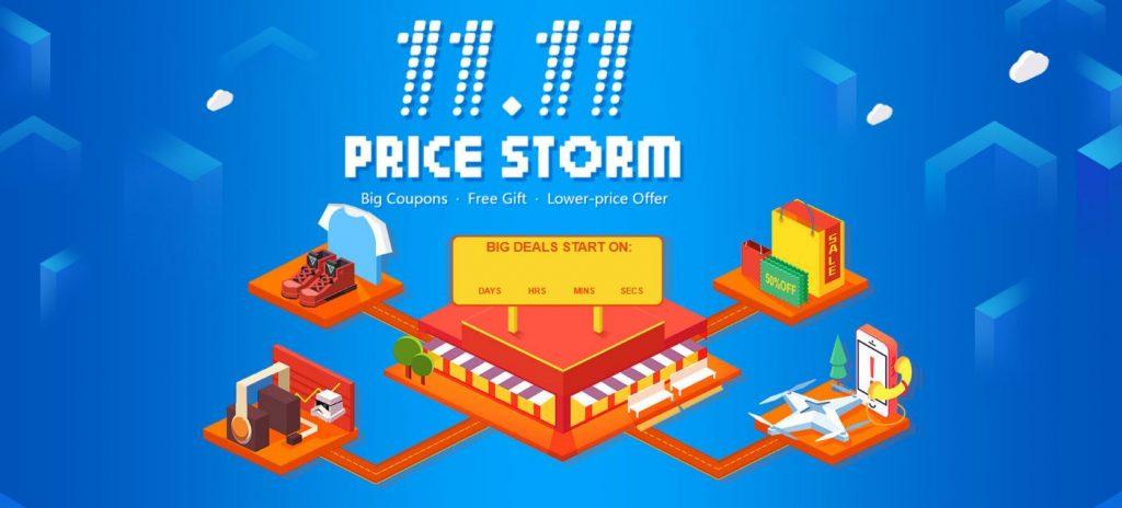 11.11 sales bei banggood