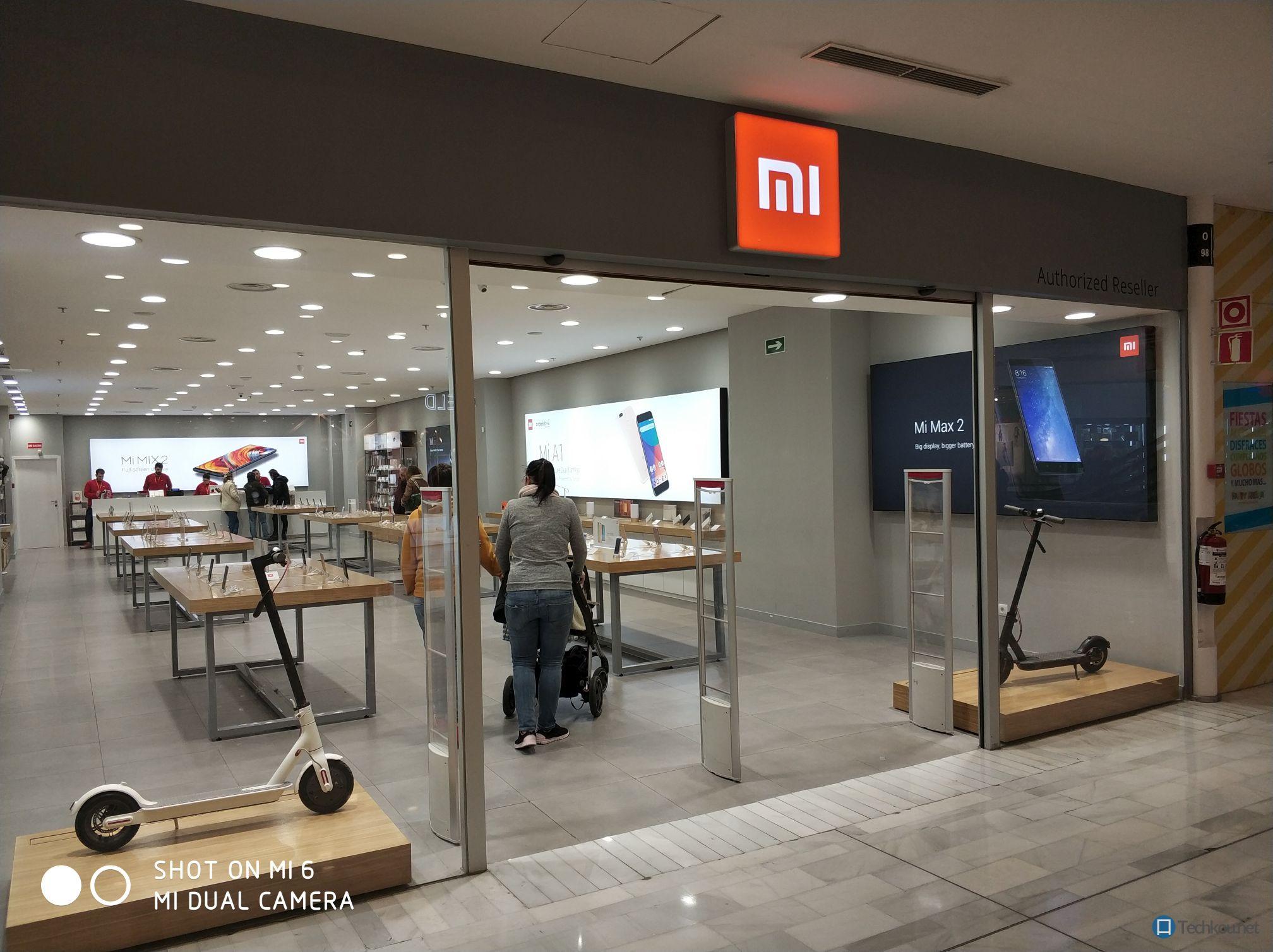 Eingang Xiaomi Mi Store Madrid