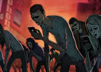 smartphone zombie grafik