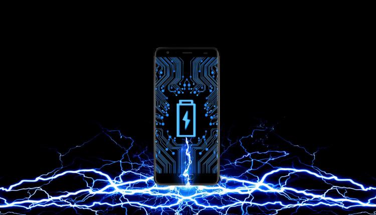 Strom Smartphone Batterie Monster