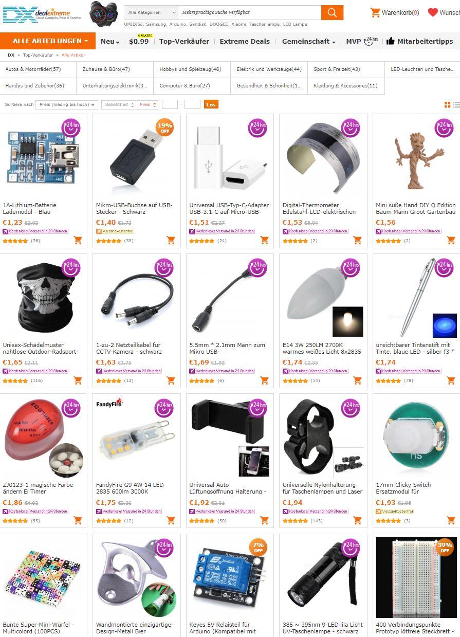 China Shop billig