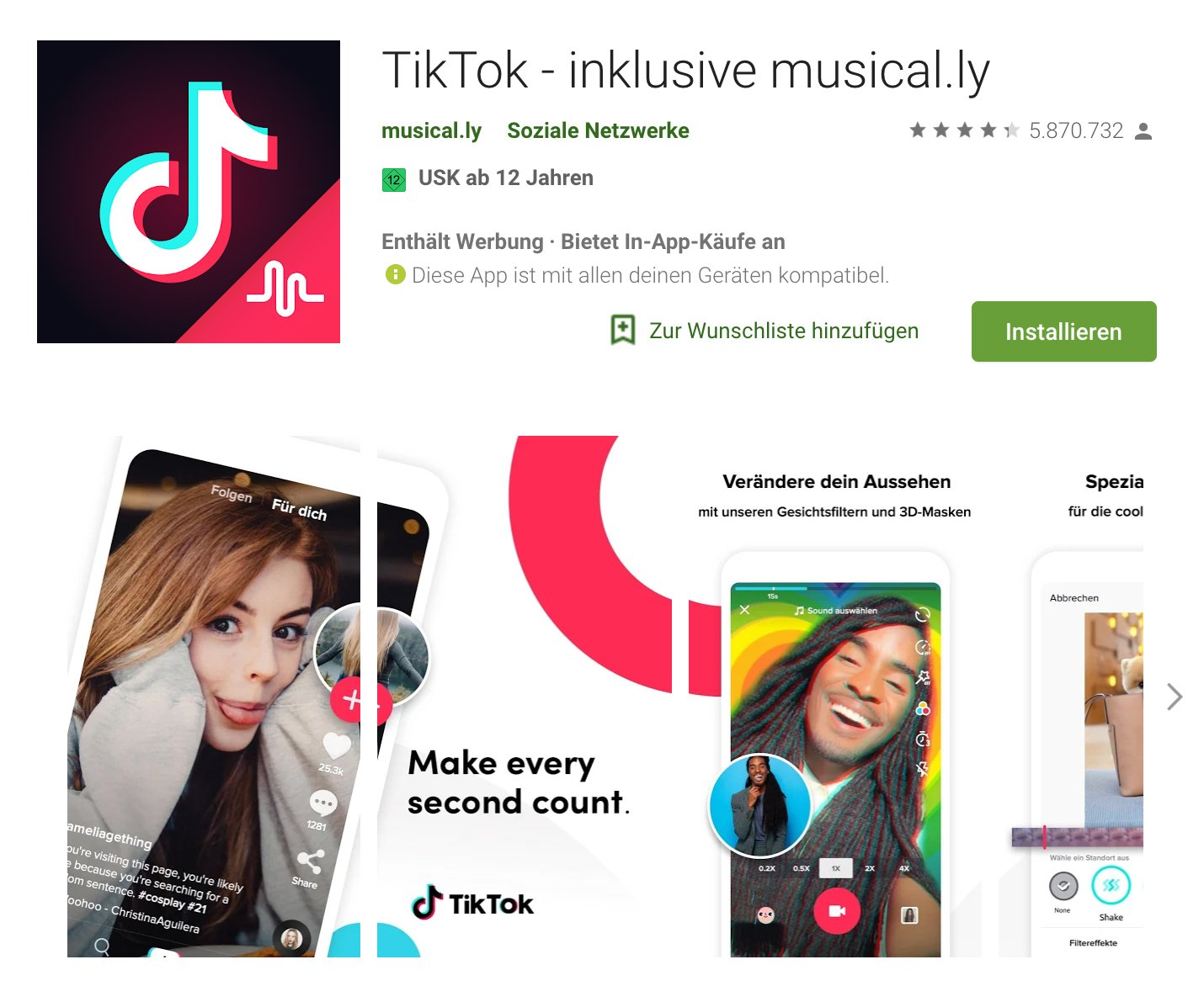 tic toc musicaly im google play store