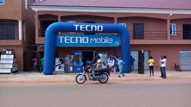 Africa China Smartphone Laden