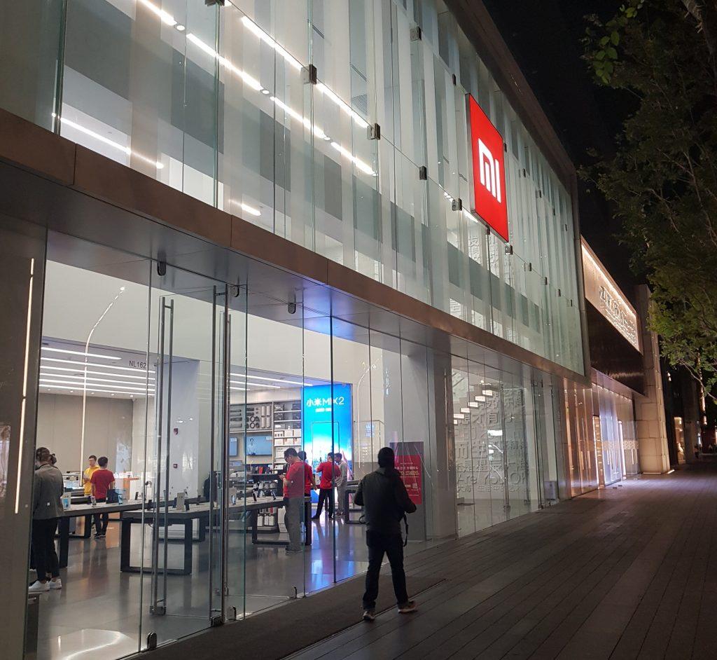 größte xiaomi store in china im herzen shenzhens