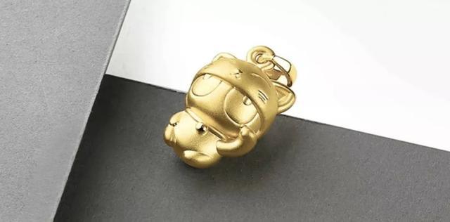 xiaomi maskottchen aus gold