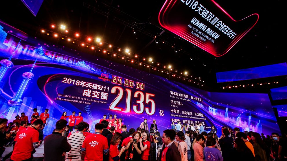 China Sell Singles day 11.11