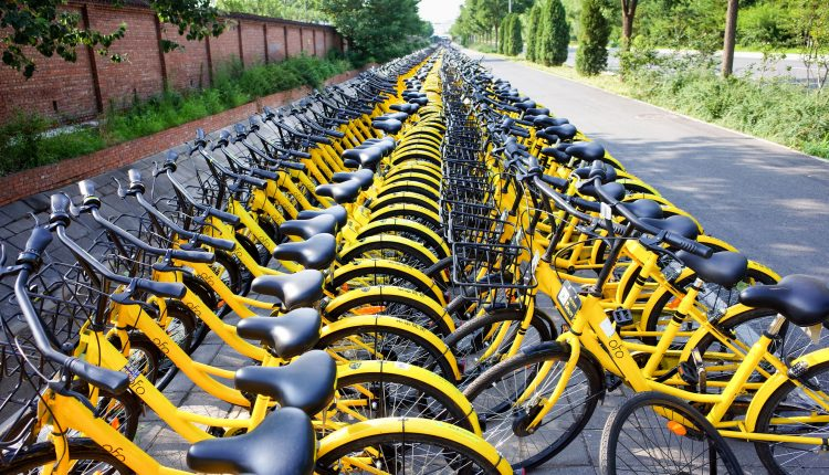Bike Sharing ofo china