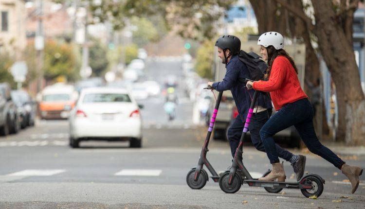 lyft shared scooter von xiaomi in amerika