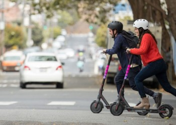 lyft shared scooter von xiaomi in amerika