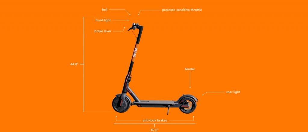 xiaomi scooter mit spin werbung