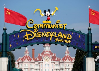China Disneyland Kommunistisch