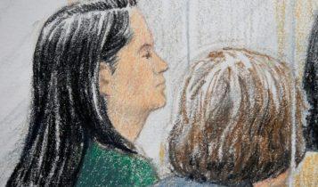 China Huawei Verhandlung Gefängnis