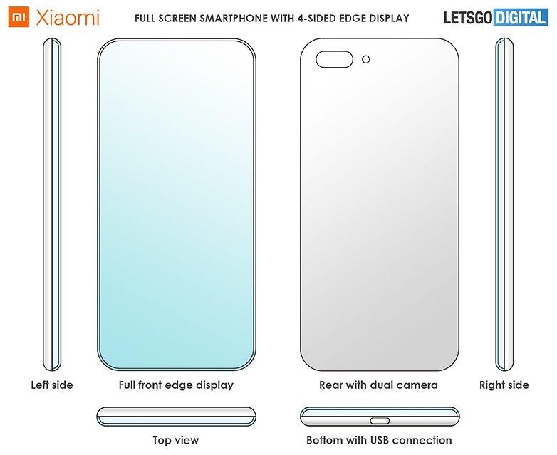 Xiaomi Smartphone China Patent neu