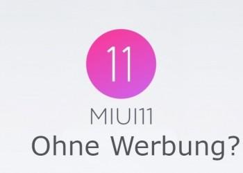 China OS Xiaomi Werbung 2019
