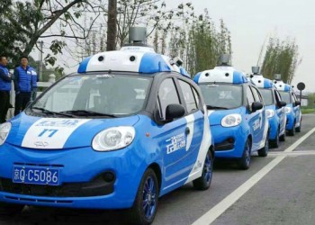 China Auto Selbstfahrend