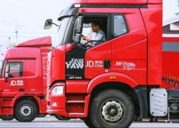 jd logistics truck