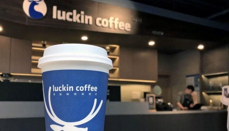 luckin coffee cup