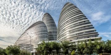 wangjing soho büro komplex von zaha hadid architects