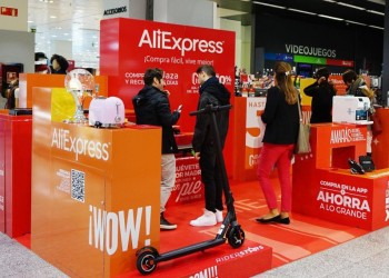 aliexpress eroeffnet store in xanadu shoppingcenter