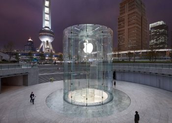500. apple store china